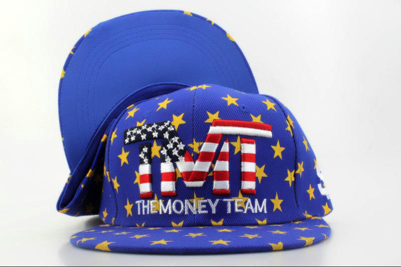 TMTThe Money Team Blue Snapback Hat QH 0701