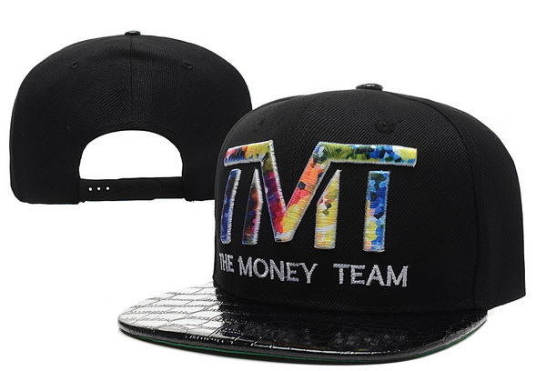 TMT The Money Team Black Snapback Hat 2 XDF 0526