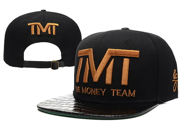TMT The Money Team Black Snapback Hat 3 XDF 0526