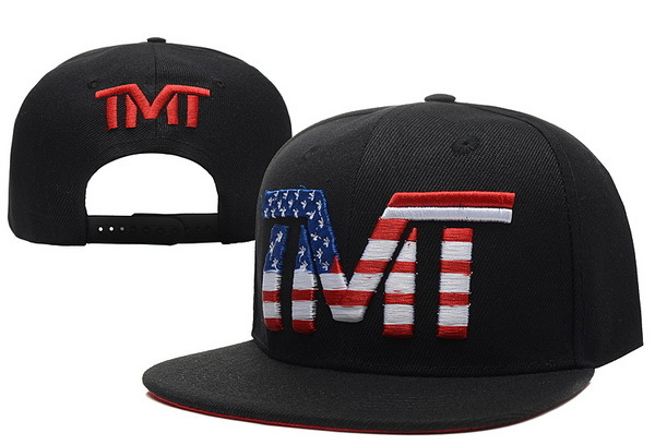 TMT The Money Team Black Snapback Hat XDF 0526