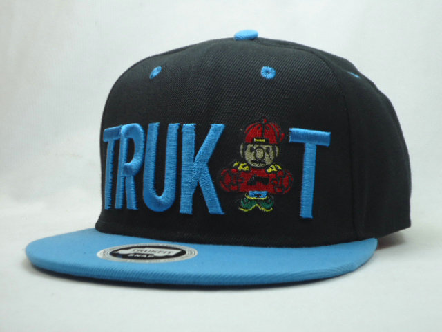 Trukfit Black Snapbacks Hat SF