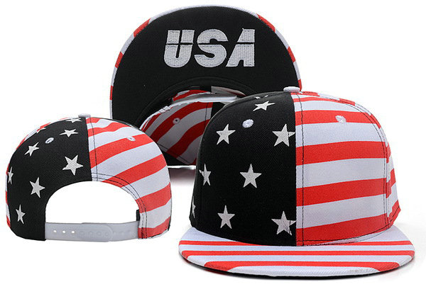 USA Flag Snapback Hat XDF 1 0528
