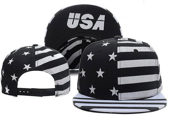 USA Flag Snapback Hat XDF 0528