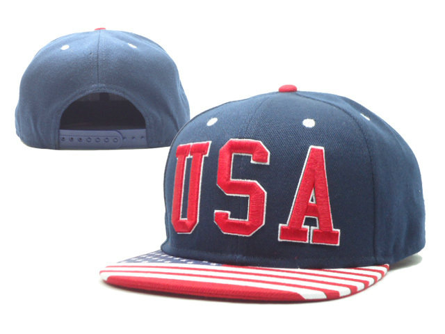 Team USA Blue Snapback Hat SF
