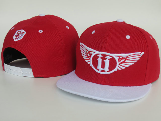 Unkut Red Snapback Hat LS