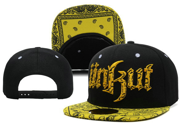 Unkut Monster Black Snapback Hat XDF 2 0606