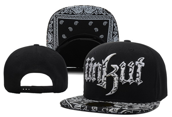 Unkut Monster Black Snapback Hat XDF 0606