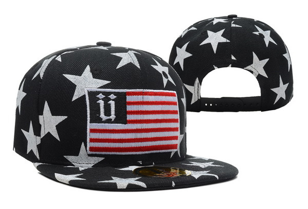 Unkut Star Black Snapback Hat XDF 0606