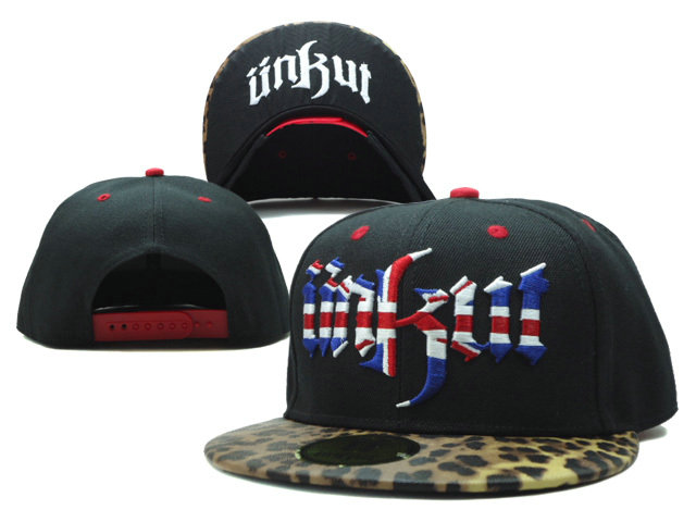 Unkut Black Snapbacks Hat SF 0701