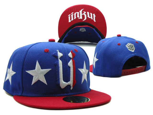 Unkut Blue Snapbacks Hat SF 0701