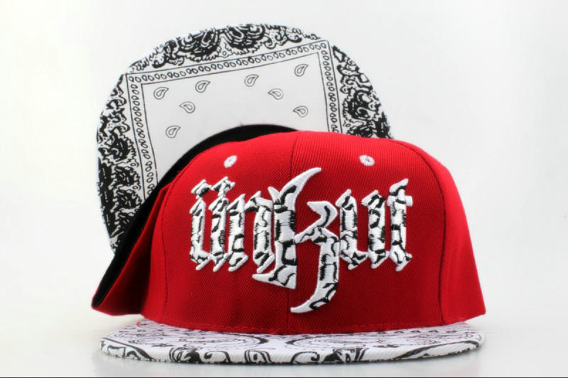 Unkut Monster Red Snapback Hat QH 0701