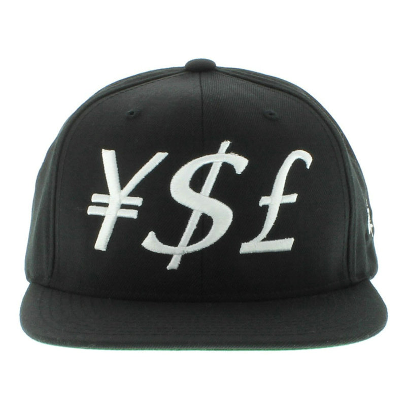 Y.S.L Black Snapbacks Hat GF 1