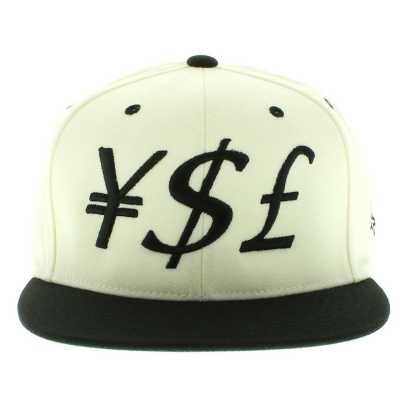 Y.S.L White Snapbacks Hat GF
