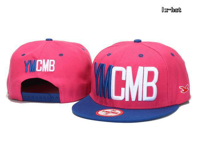 YMCMB Pink Snapback Hat GF 2
