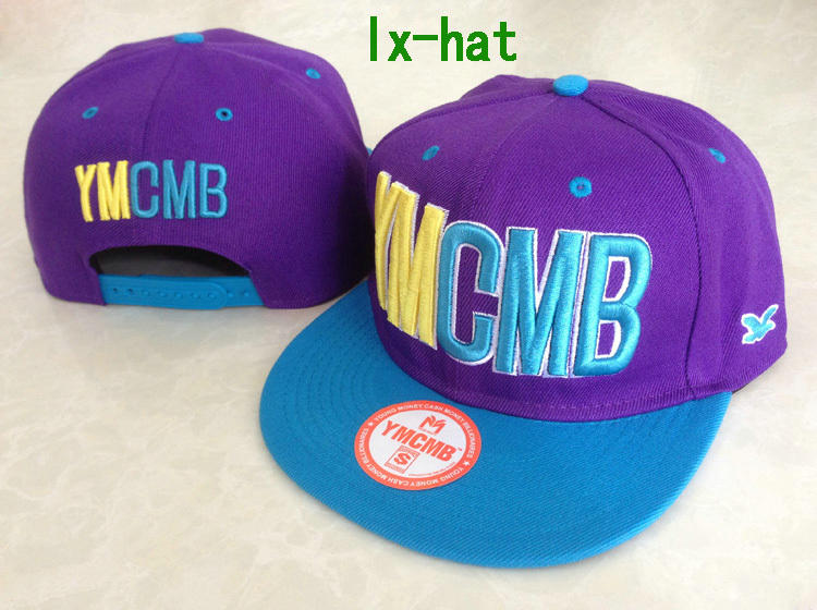 YMCMB Purple Snapback Hat GF