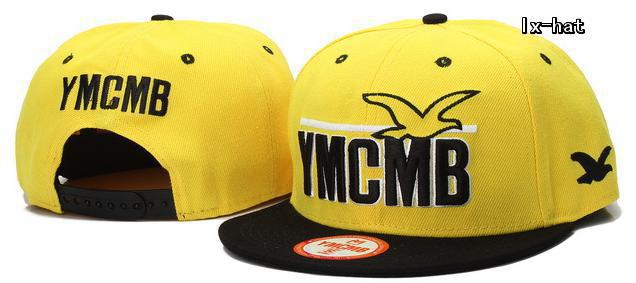 YMCMB Yellow Snapback Hat GF