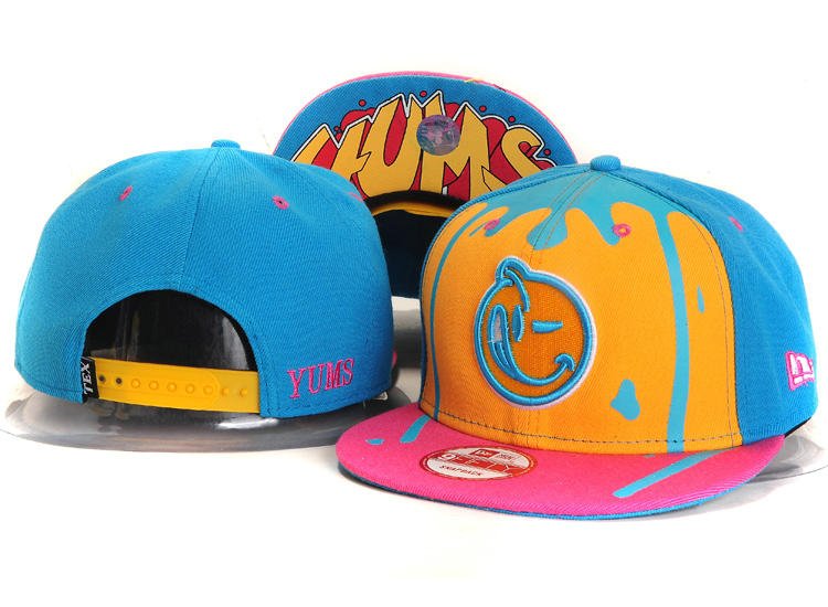 Yums Blue Snapbacks Hat YS