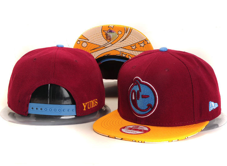 Yums Red Snapbacks Hat YS