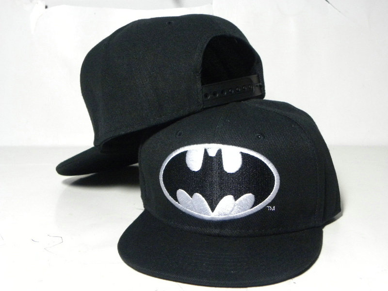 Kids Batman Black Snapback Hat DD