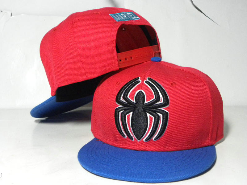 Kids Marvel Red Snapback Hat DD