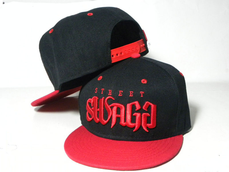 Kids Swagg Black Snapback Hat DD