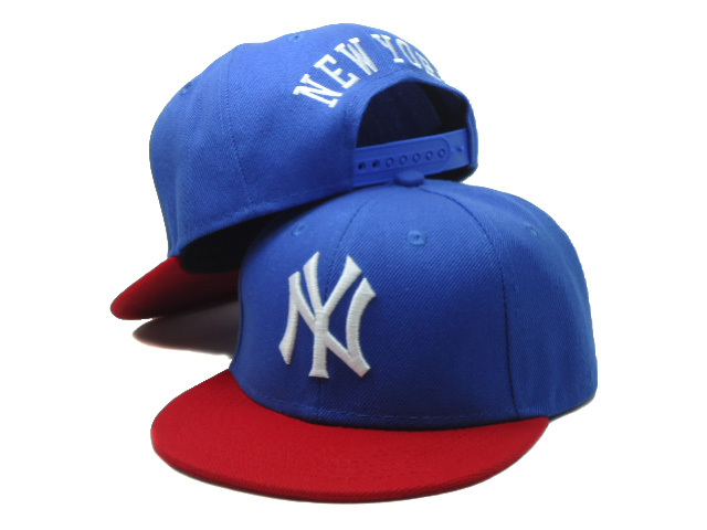 Kids New York Yankees Blue Snapback Hat SF