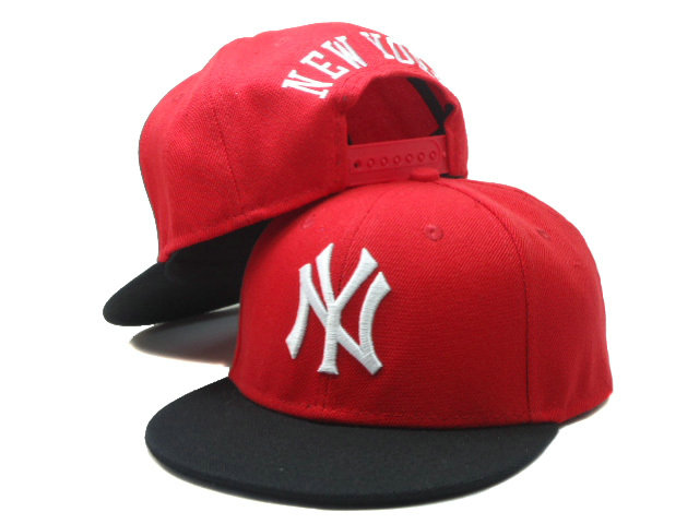 Kids New York Yankees Red Snapback Hat SF