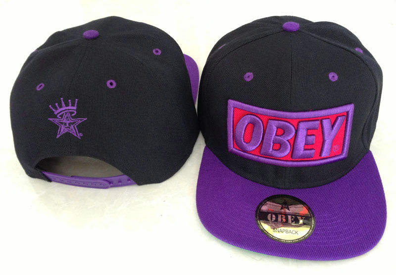 Kids Obey Snapbacks Hat GF