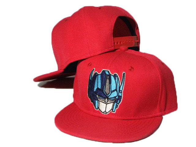 Kids Cartoon Red Snapback Hat DD 0613