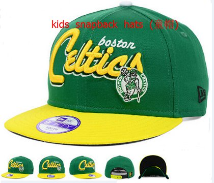 Kids Boston Celtics Snapback Hat 60D 140802 5