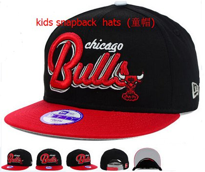 Kids Chicago Bulls Snapback Hat 60D 140802 3