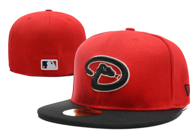 Arizona Diamondbacks Red Fitted Hat LX 0701