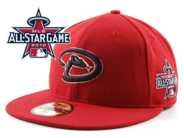 Arizona Diamondbacks 2010 MLB All Star Fitted Hat Sf01