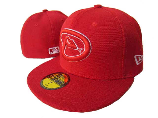 Arizona Diamondbacks MLB Fitted Hat LX3