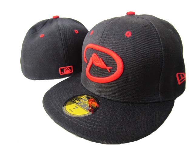 Arizona Diamondbacks MLB Fitted Hat LX4