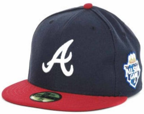 Atlanta Braves 2012 MLB All Star Fitted Hat SF01