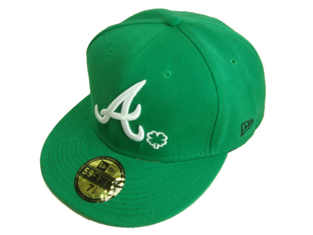 Atlanta Braves MLB Fitted Hat LX02