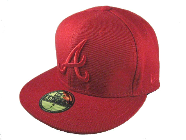 Atlanta Braves MLB Fitted Hat LX04