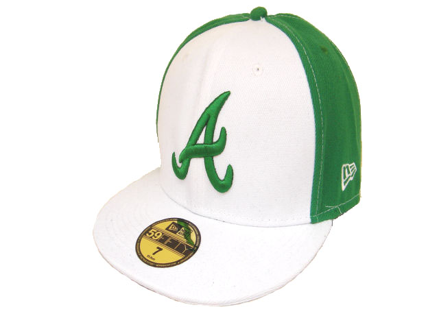 Atlanta Braves MLB Fitted Hat LX06