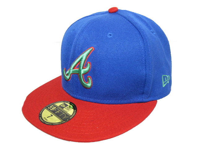 Atlanta Braves MLB Fitted Hat LX07