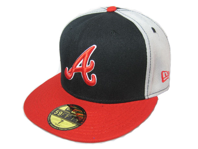 Atlanta Braves MLB Fitted Hat LX13