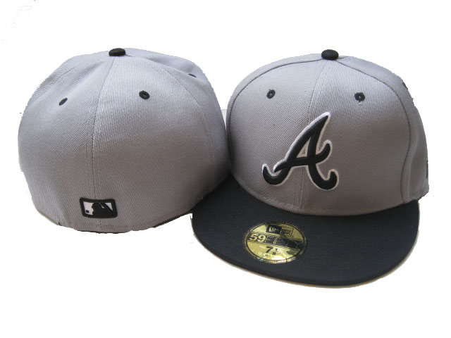 Atlanta Braves MLB Fitted Hat LX17