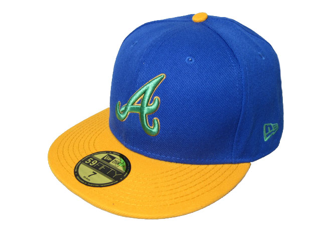 Atlanta Braves MLB Fitted Hat LX18