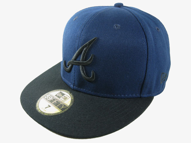 Atlanta Braves MLB Fitted Hat LX19
