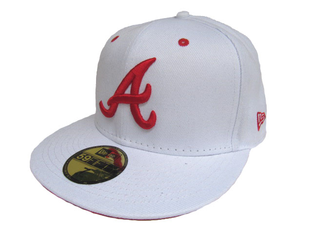 Atlanta Braves MLB Fitted Hat LX20