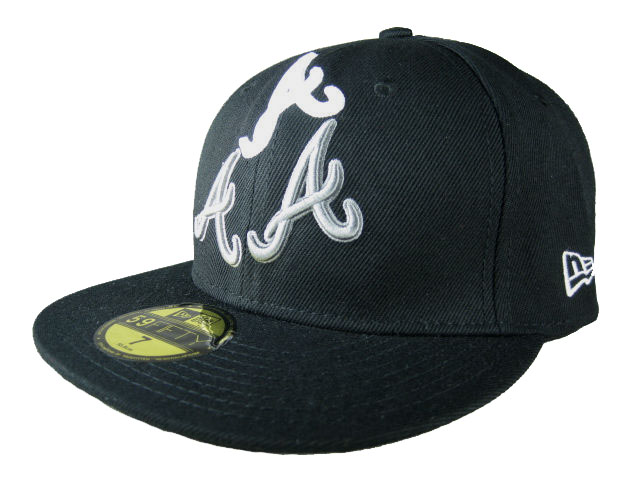 Atlanta Braves MLB Fitted Hat LX21