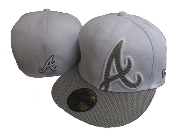 Atlanta Braves MLB Fitted Hat LX25