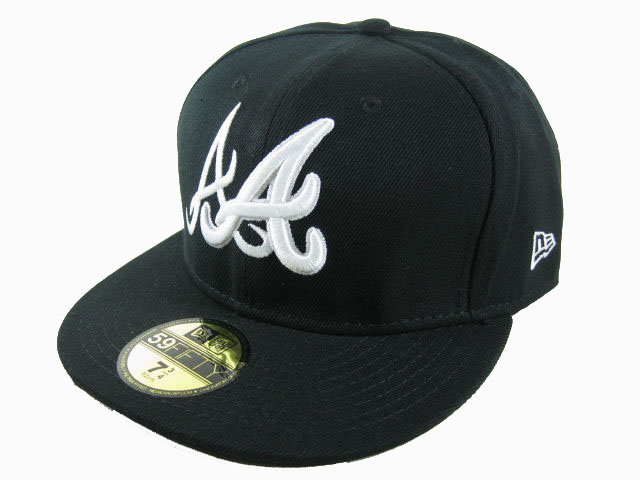 Atlanta Braves MLB Fitted Hat LX29