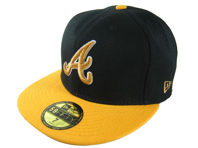 Atlanta Braves MLB Fitted Hat LX32