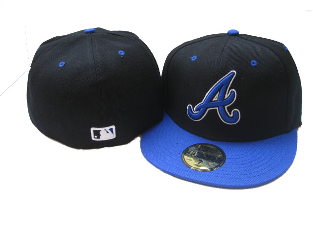 Atlanta Braves MLB Fitted Hat LX33